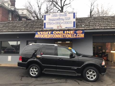 2004 Lincoln Aviator for sale at Auto Credit Connection LLC in Uniontown PA