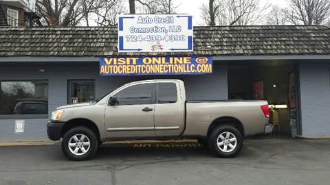2008 Nissan Titan for sale at Auto Credit Connection LLC in Uniontown PA
