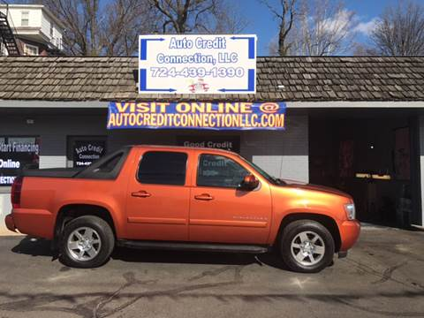 2007 Chevrolet Avalanche for sale in Uniontown, PA