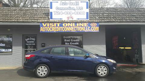 2012 Ford Focus for sale at Auto Credit Connection LLC in Uniontown PA
