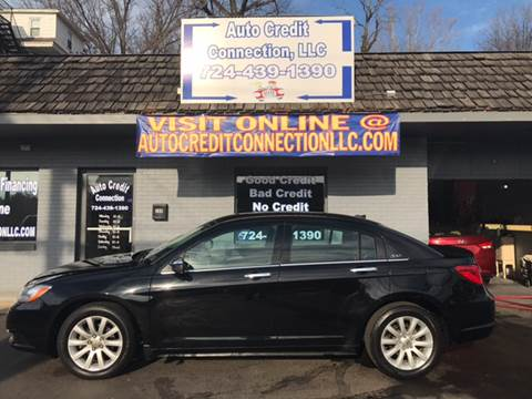 2014 Chrysler 200 for sale at Auto Credit Connection LLC in Uniontown PA
