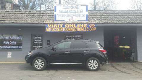 2011 Nissan Murano for sale at Auto Credit Connection LLC in Uniontown PA