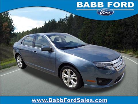 2012 Ford Fusion for sale in Reed City, MI