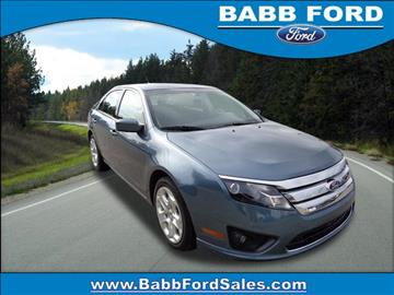 2011 Ford Fusion for sale in Reed City, MI