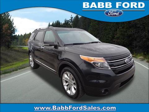 2014 Ford Explorer for sale in Reed City, MI