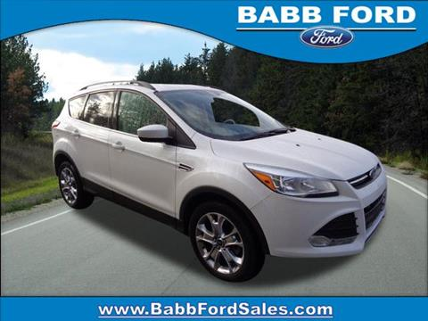 2015 Ford Escape for sale in Reed City, MI