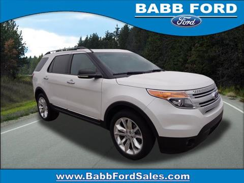 Babb Ford Used Cars