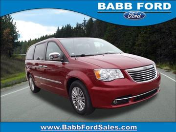 2013 Chrysler Town and Country for sale in Reed City, MI