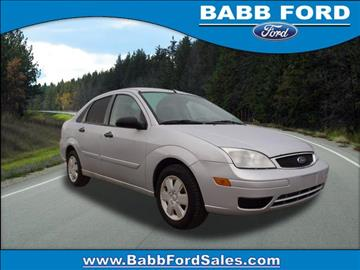 2007 Ford Focus for sale in Reed City, MI