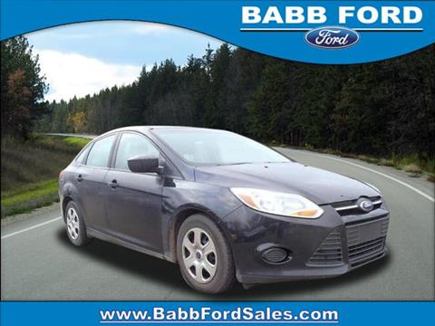 2012 Ford Focus for sale in Reed City, MI