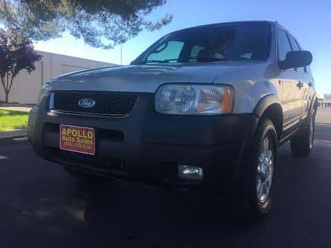 2002 Ford Escape for sale at APOLLO AUTO SALES in Sacramento CA