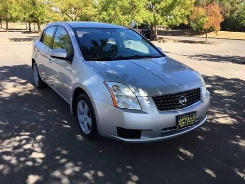 2007 Nissan Sentra for sale at APOLLO AUTO SALES in Sacramento CA