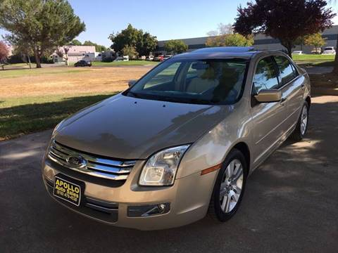 2008 Ford Fusion for sale at APOLLO AUTO SALES in Sacramento CA