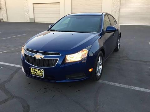 2012 Chevrolet Cruze for sale at APOLLO AUTO SALES in Sacramento CA