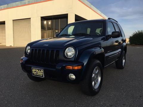 2002 Jeep Liberty for sale at APOLLO AUTO SALES in Sacramento CA