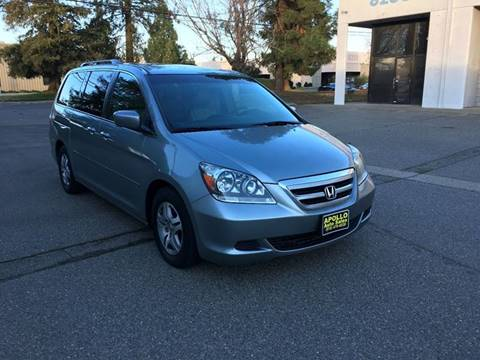 2005 Honda Odyssey for sale at APOLLO AUTO SALES in Sacramento CA