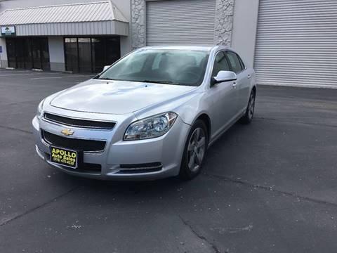 2011 Chevrolet Malibu for sale at APOLLO AUTO SALES in Sacramento CA