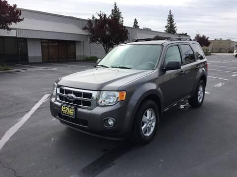 2009 Ford Escape for sale at APOLLO AUTO SALES in Sacramento CA
