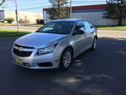 2011 Chevrolet Cruze for sale at APOLLO AUTO SALES in Sacramento CA