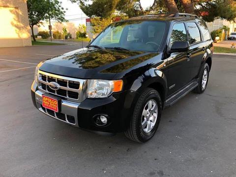 2008 Ford Escape for sale at APOLLO AUTO SALES in Sacramento CA