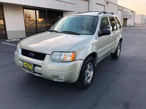 2003 Ford Escape for sale at APOLLO AUTO SALES in Sacramento CA