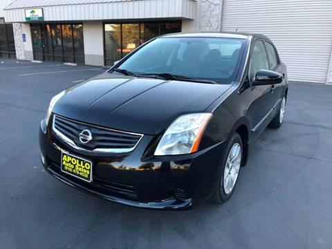 2011 Nissan Sentra for sale at APOLLO AUTO SALES in Sacramento CA