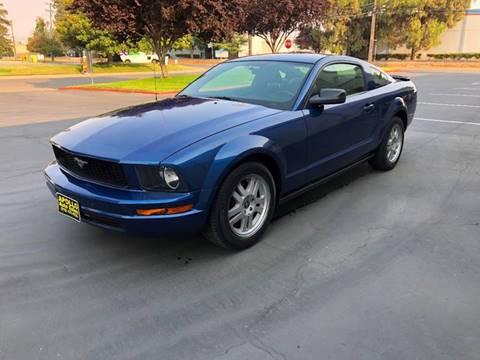 2007 Ford Mustang for sale at APOLLO AUTO SALES in Sacramento CA
