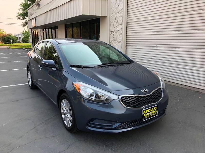 2014 Kia Forte For Sale At Apollo Auto Sales In Sacramento CA