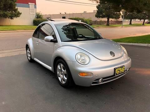 2002 Volkswagen New Beetle for sale at APOLLO AUTO SALES in Sacramento CA