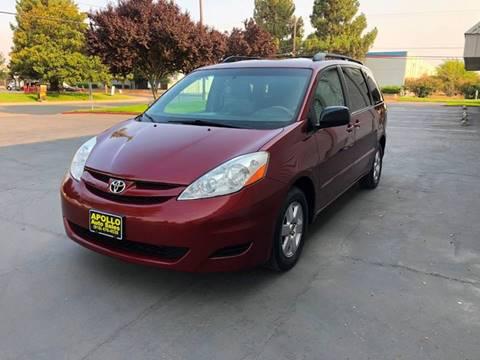 2007 Toyota Sienna for sale at APOLLO AUTO SALES in Sacramento CA