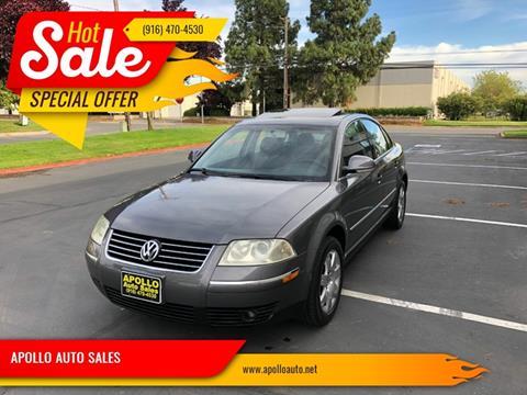 2005 Volkswagen Passat for sale in Sacramento, CA