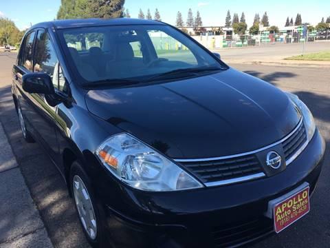 2009 Nissan Versa for sale at APOLLO AUTO SALES in Sacramento CA