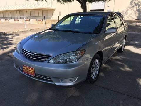 2005 Toyota Camry for sale at APOLLO AUTO SALES in Sacramento CA