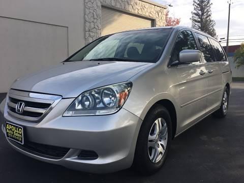 2007 Honda Odyssey for sale at APOLLO AUTO SALES in Sacramento CA