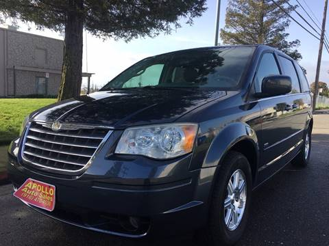 2008 Chrysler Town and Country for sale at APOLLO AUTO SALES in Sacramento CA