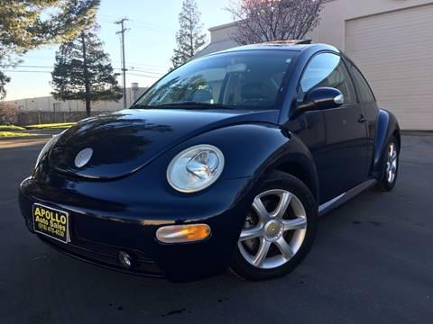 2004 Volkswagen New Beetle for sale at APOLLO AUTO SALES in Sacramento CA