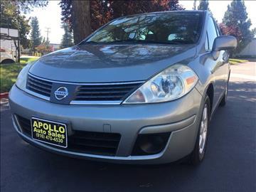 2007 Nissan Versa for sale at APOLLO AUTO SALES in Sacramento CA