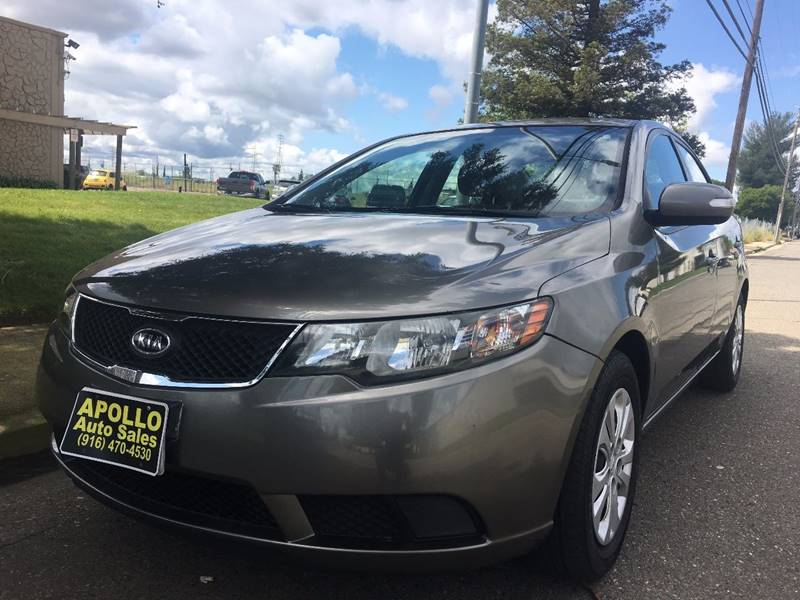 2010 Kia Forte For Sale At Apollo Auto Sales In Sacramento CA