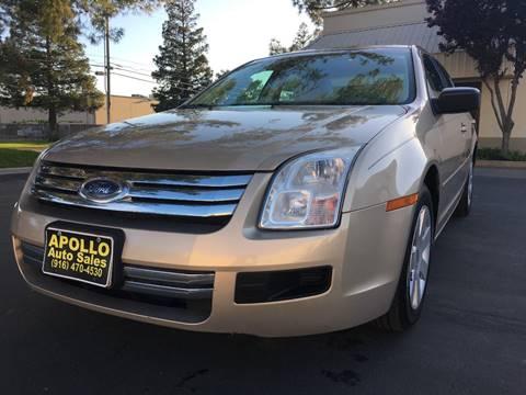 2007 Ford Fusion for sale at APOLLO AUTO SALES in Sacramento CA