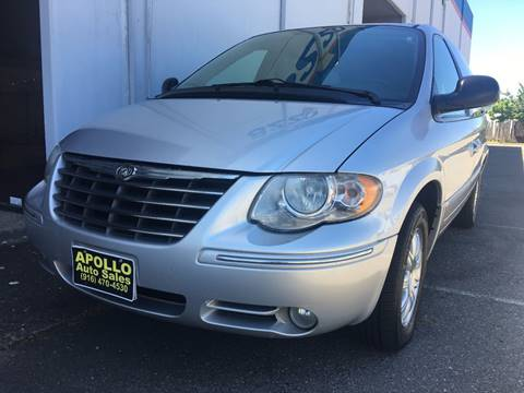 2005 Chrysler Town and Country for sale at APOLLO AUTO SALES in Sacramento CA