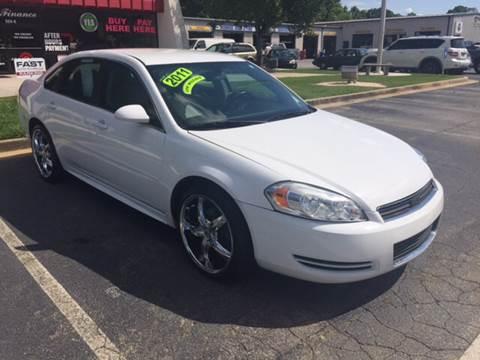2011 Chevrolet Impala for sale at Fast Auto Sales in Monroe GA