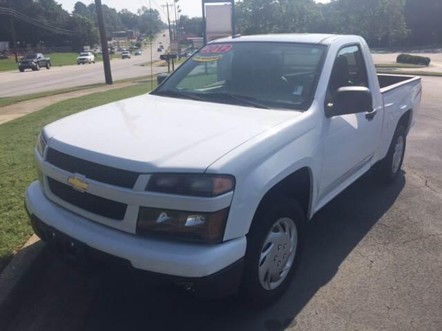2012 Chevrolet Colorado for sale at Fast Auto Sales in Monroe GA