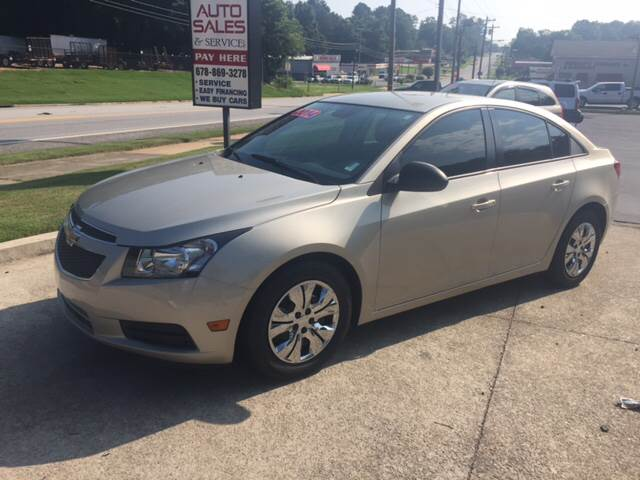 2014 Chevrolet Cruze for sale at Fast Auto Sales in Monroe GA