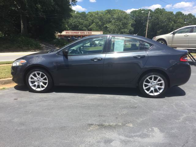 2013 Dodge Dart for sale at Fast Auto Sales in Monroe GA