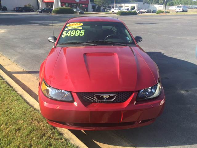 2002 Ford Mustang for sale at Fast Auto Sales in Monroe GA