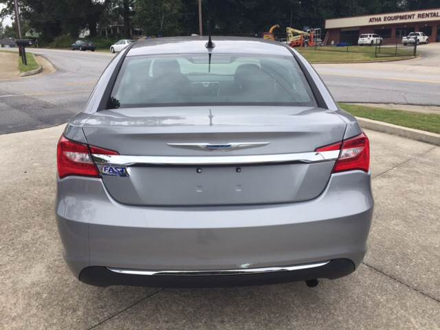2013 Chrysler 200 for sale at Fast Auto Sales in Monroe GA