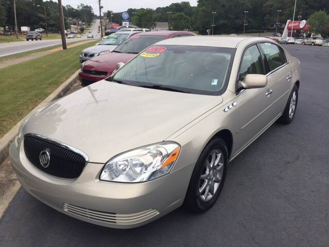 2007 Buick Lucerne for sale at Fast Auto Sales in Monroe GA