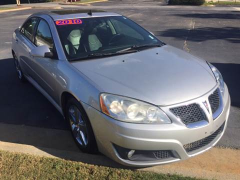2010 Pontiac G6 for sale at Fast Auto Sales in Monroe GA