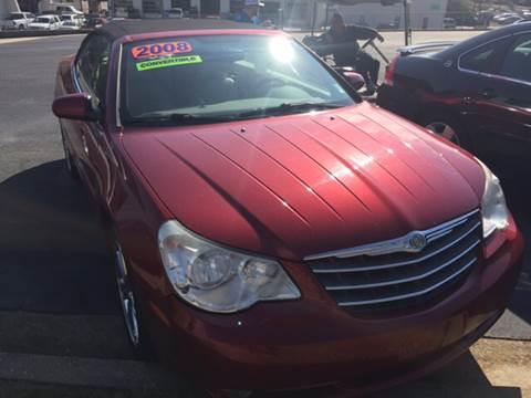 2008 Chrysler Sebring for sale at Fast Auto Sales in Monroe GA