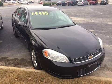2007 Chevrolet Impala for sale at Fast Auto Sales in Monroe GA